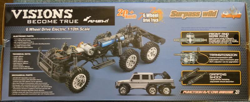 Surpass WILD 3 6WD Crawler 1:10 Dsc09111