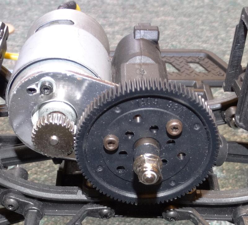 Surpass WILD 3 6WD Crawler 1:10 Dsc09118