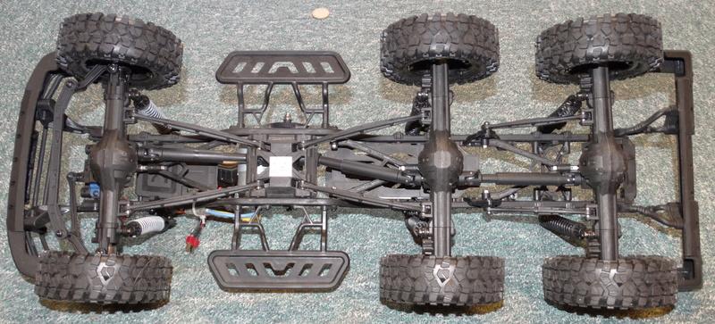 Surpass WILD 3 6WD Crawler 1:10 Dsc09122