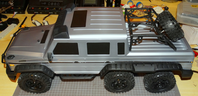 Surpass WILD 3 6WD Crawler 1:10 Dsc09215