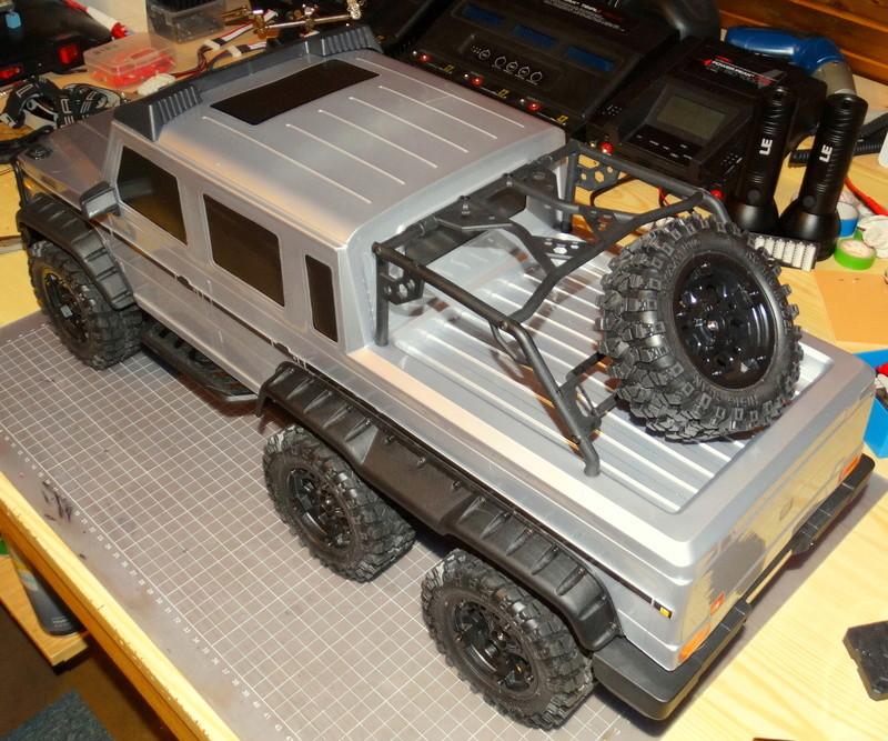 Surpass WILD 3 6WD Crawler 1:10 Dsc09216