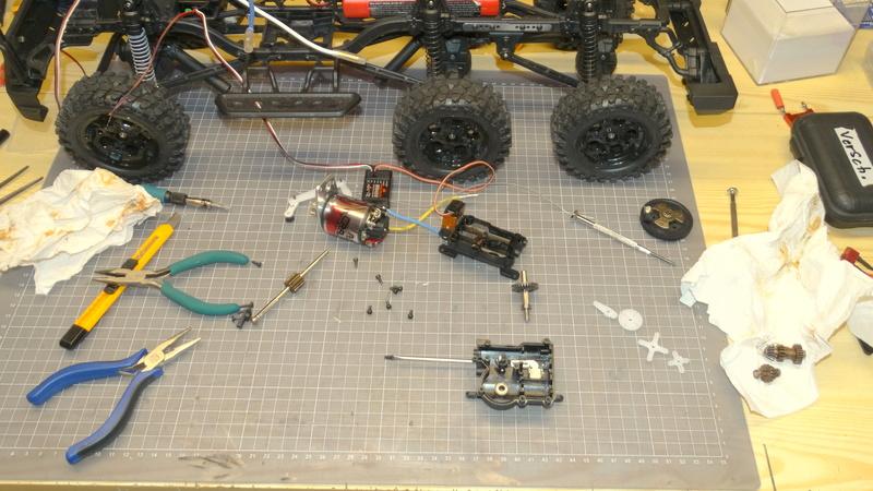 Surpass WILD 3 6WD Crawler 1:10 Dsc09219