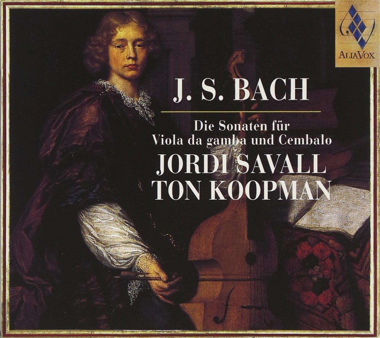 Bach JS. Sonates pour viole de gambe et clavecin 7180ac10