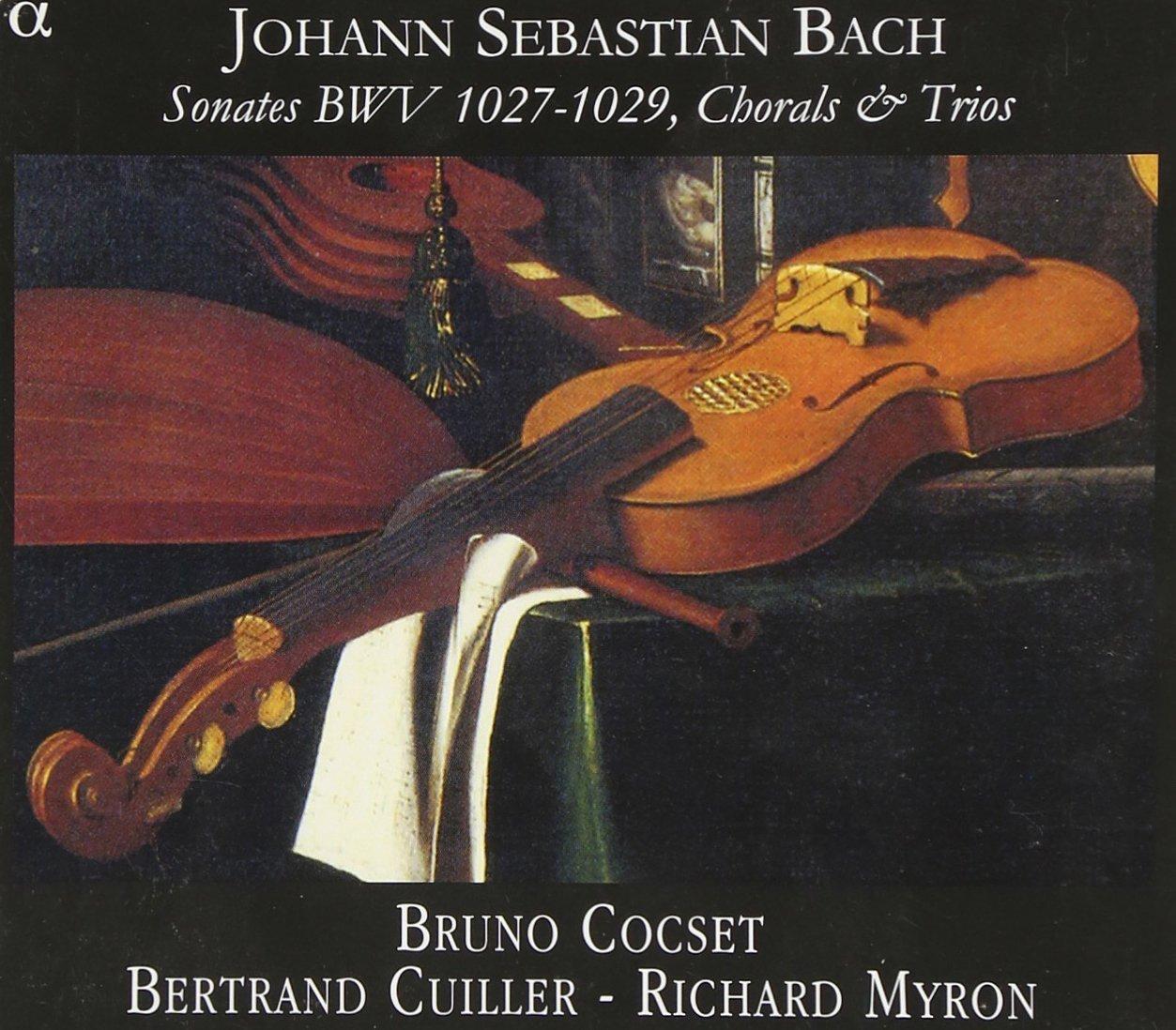 Bach JS. Sonates pour viole de gambe et clavecin 71ukg-10