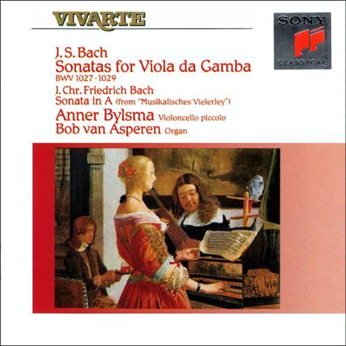 Bach JS. Sonates pour viole de gambe et clavecin Bylsma13