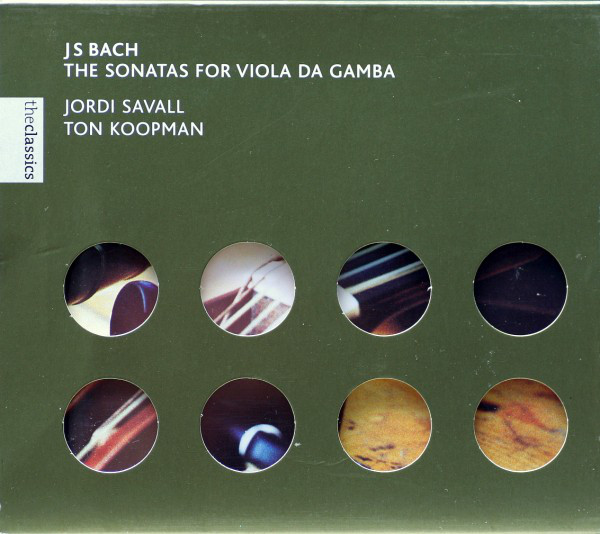 Bach JS. Sonates pour viole de gambe et clavecin R-504211