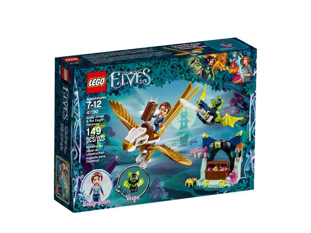 Mars 2018 LEGO® 41190, Emily Jones et l'évasion de l'aigle 110