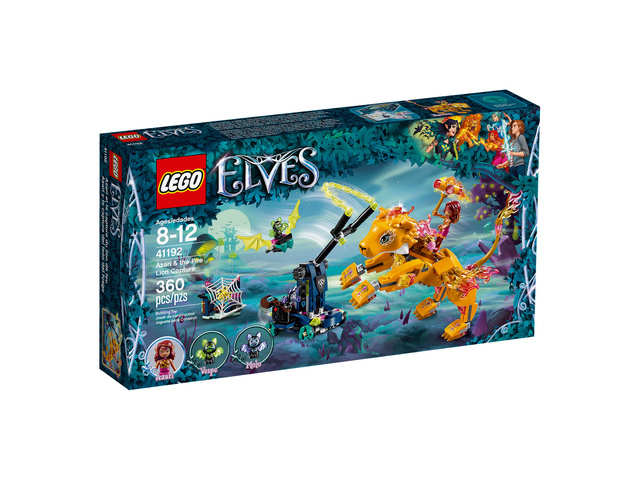 Mars 2018 LEGO 41192, Azari et la capture du lion de feu 1810