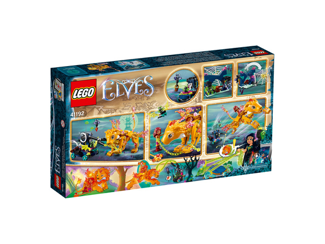 Mars 2018 LEGO 41192, Azari et la capture du lion de feu 1910
