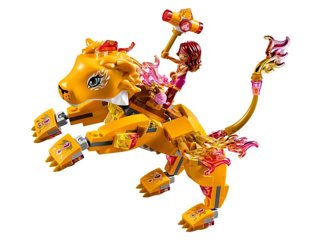 Mars 2018 LEGO 41192, Azari et la capture du lion de feu 2110