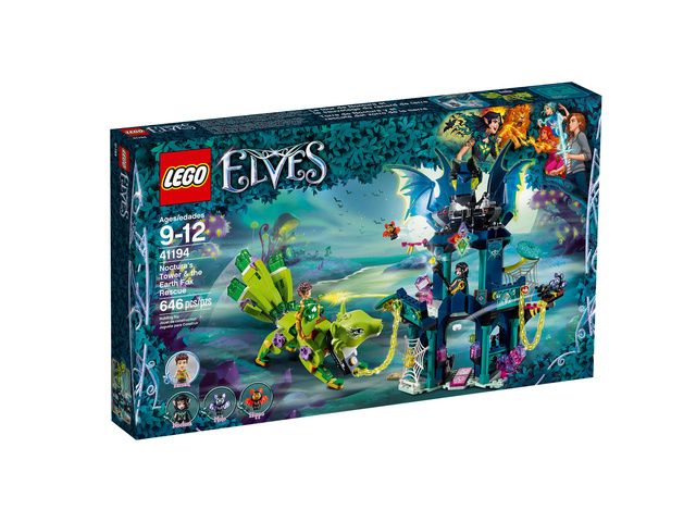 Mars 2018 LEGO 41194, La tour de Noctura et le sauvetage du renard de terre 3710