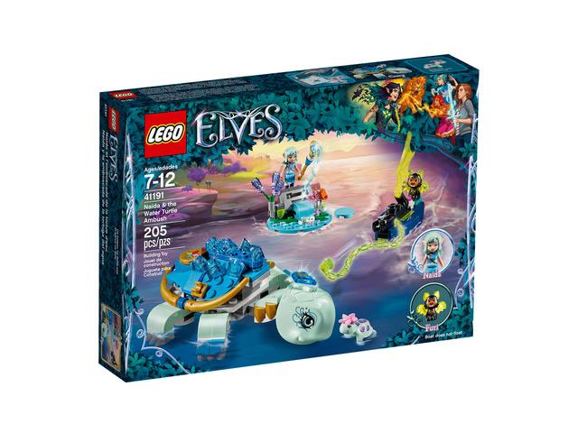 Mars 2018 LEGO 41191, Naida et l'embuscade de la tortue d'eau 910