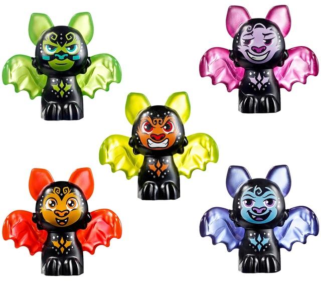 Histoire LEGO® Elves 2018. Les créatures élémentaires fantastiques ! Bats10