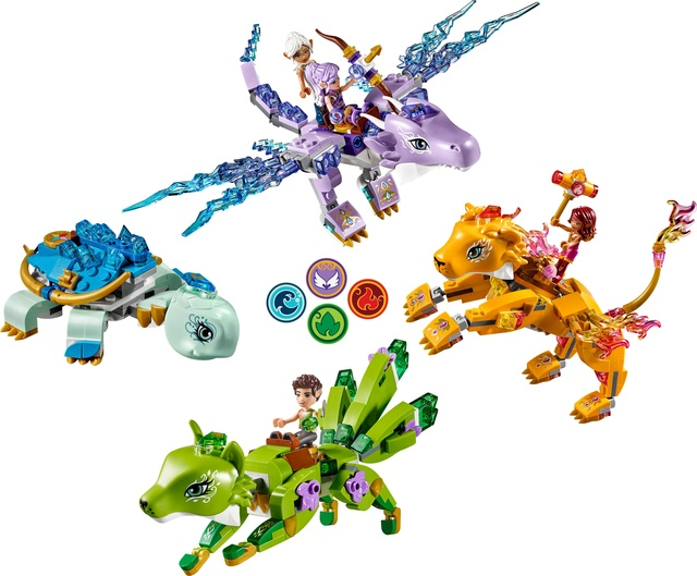 Histoire LEGO® Elves 2018. Les créatures élémentaires fantastiques ! Elemen10