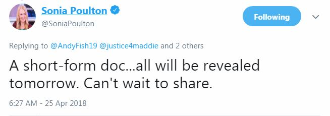 """**IT'S HERE NOW**......""""The McCanns and the police"""" - new documentary from Sonia Poulton Captur10"""