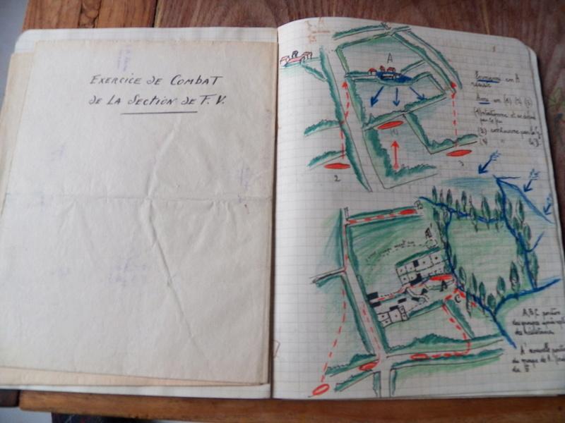 cahier d'exercices de combats pour officier 1939/1940 d'un élève de l'EMICC 100_0017