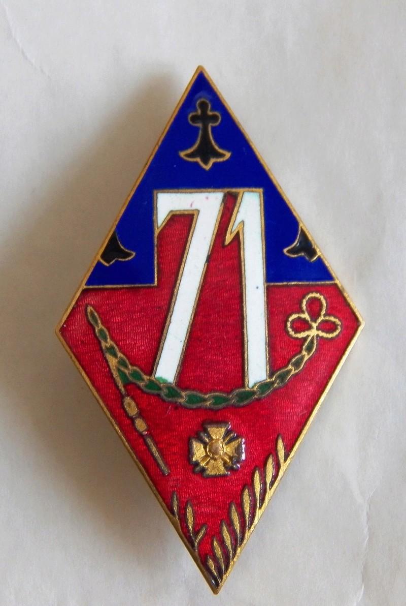 insigne du 71° RI 100_0321