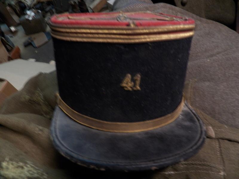 Képi d'un Lieutenant du 41e RI 101_0010