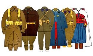 Tenues de l'armée française / French Uniforms