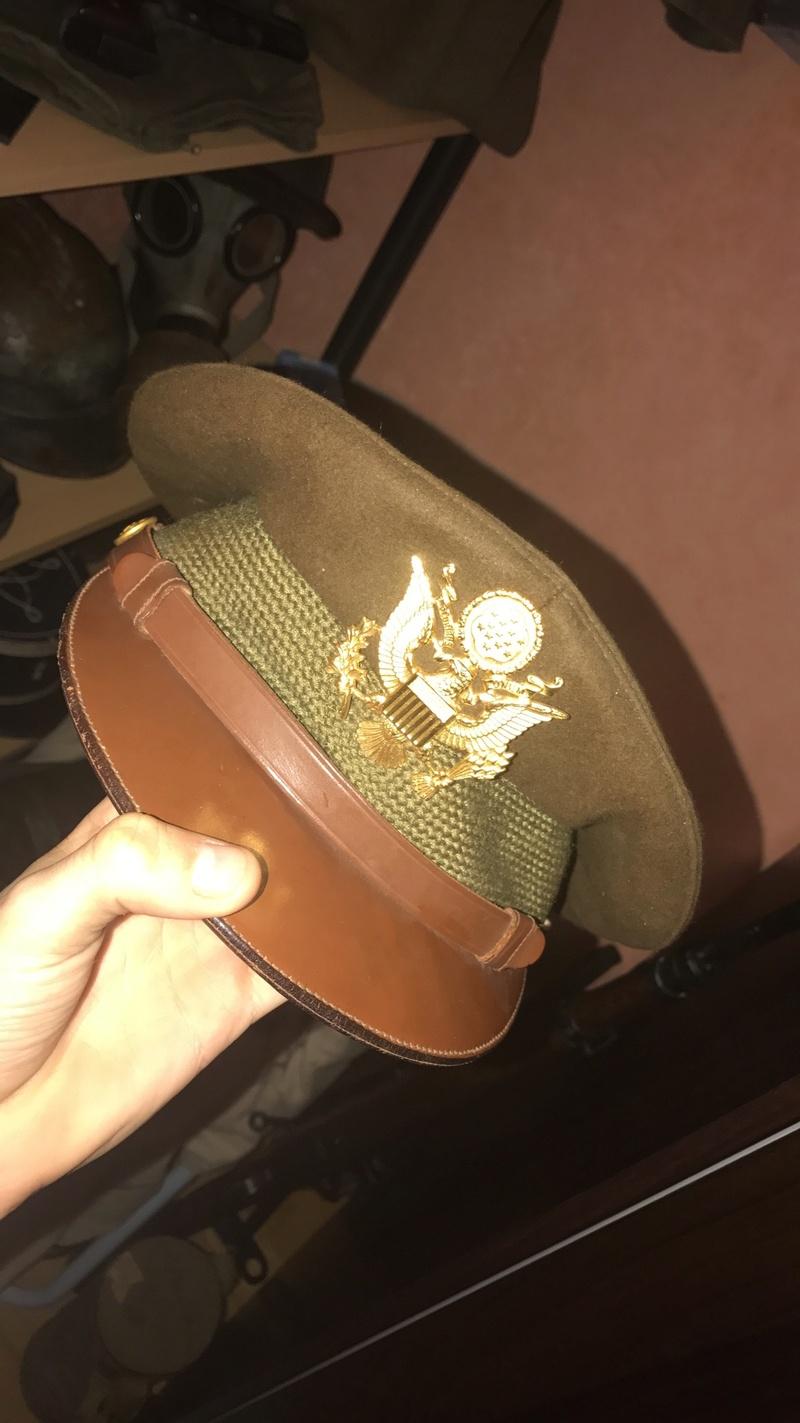 Casquette officier US Img_0910