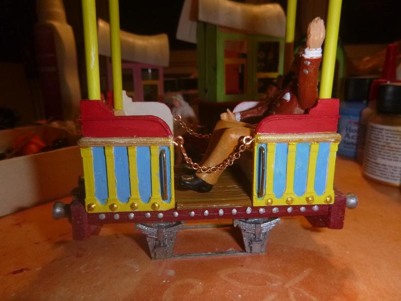 Rowland Emett Festival Railway Coach  Smallbrook Studio Spur Gn15  P1060103