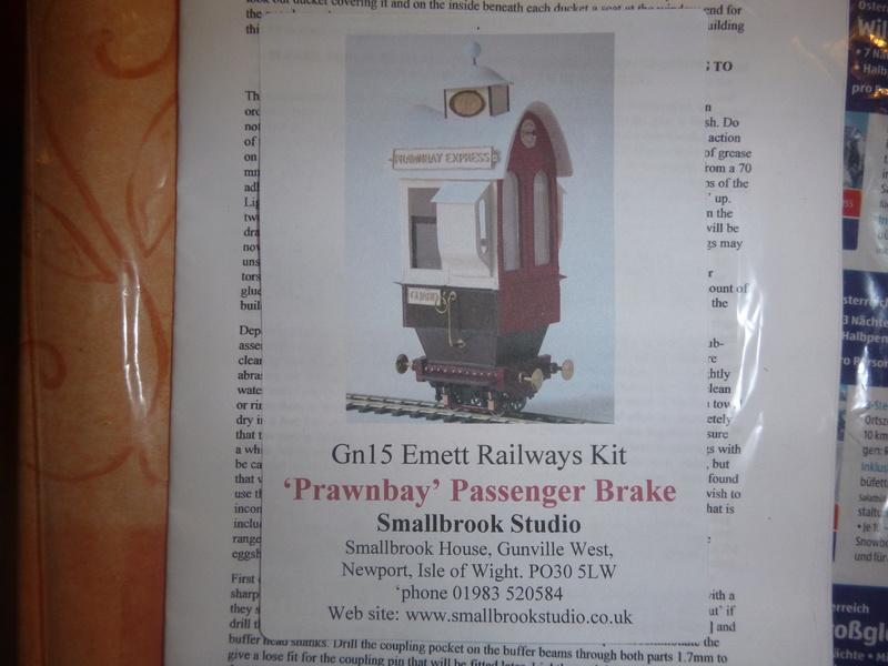 Rowland Emett Smallbrook Studio Oysterbeach Coach +Prawnbay Passenger Break Van P1060628