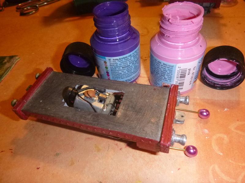 Lok Nellie  Rowland Emett  smallbrook studio  Spur G  Gn15  1: 22,5 Traumland - Seite 2 P1060729