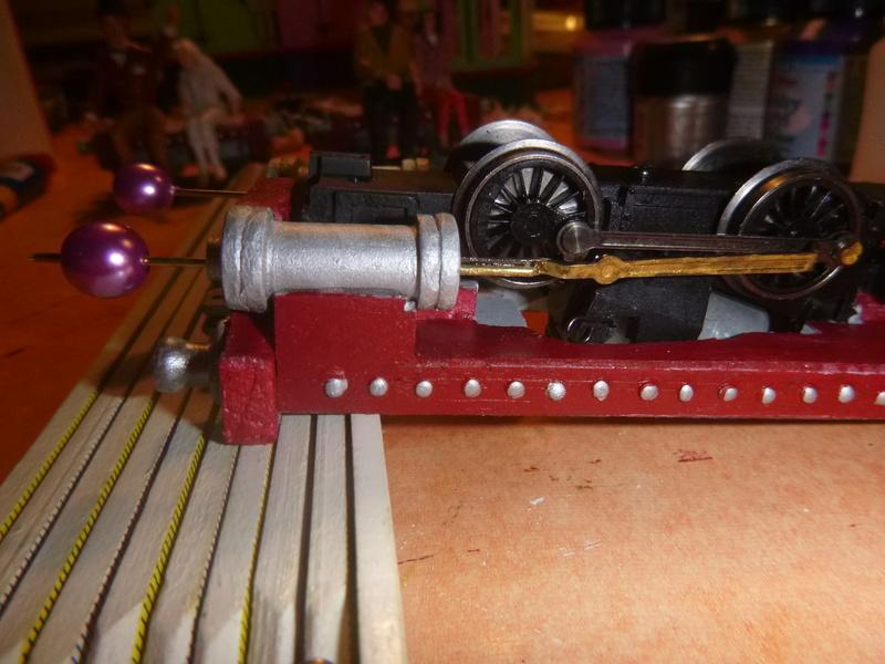 Lok Nellie  Rowland Emett  smallbrook studio  Spur G  Gn15  1: 22,5 Traumland - Seite 2 P1060731