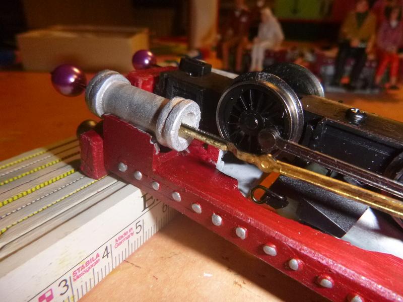 Lok Nellie  Rowland Emett  smallbrook studio  Spur G  Gn15  1: 22,5 Traumland - Seite 2 P1060732
