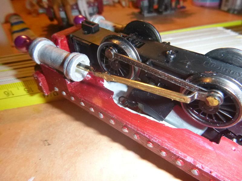 Lok Nellie  Rowland Emett  smallbrook studio  Spur G  Gn15  1: 22,5 Traumland - Seite 2 P1060737