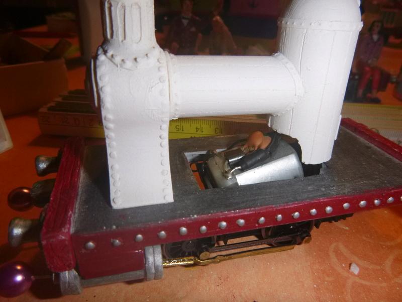 Lok Nellie  Rowland Emett  smallbrook studio  Spur G  Gn15  1: 22,5 Traumland - Seite 2 P1060739