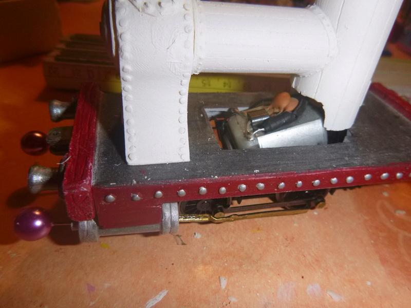 Lok Nellie  Rowland Emett  smallbrook studio  Spur G  Gn15  1: 22,5 Traumland - Seite 2 P1060742