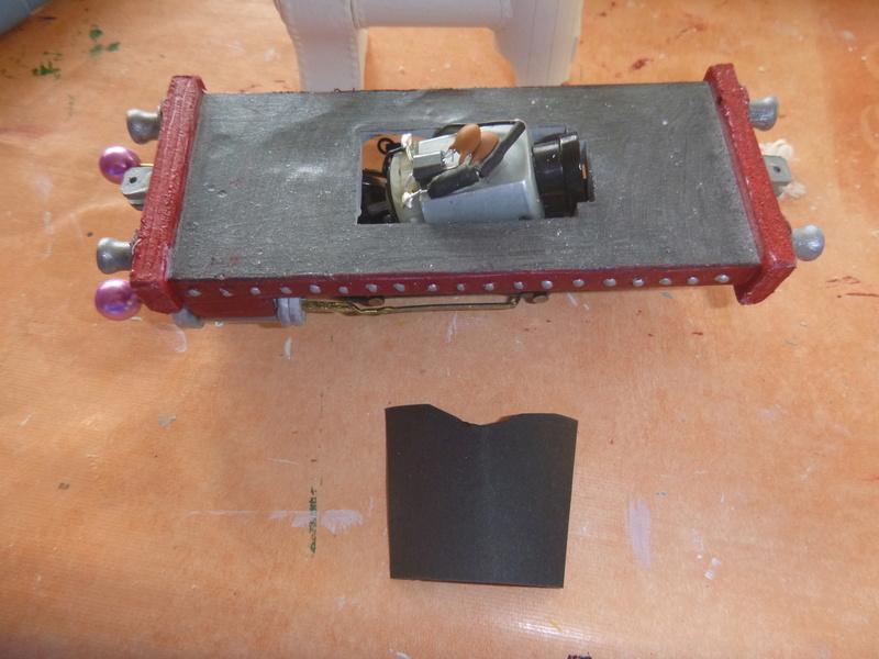 Lok Nellie  Rowland Emett  smallbrook studio  Spur G  Gn15  1: 22,5 Traumland - Seite 2 P1060746