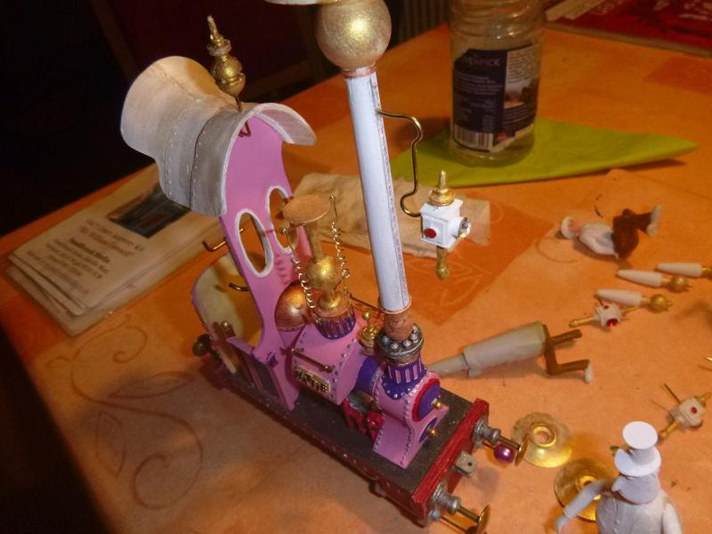 Lok Nellie  Rowland Emett  smallbrook studio  Spur G  Gn15  1: 22,5 Traumland - Seite 2 P1060817