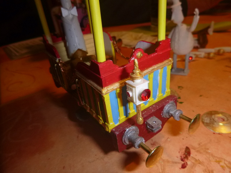 Rowland Emett Festival Railway Coach  Smallbrook Studio Spur Gn15  P1060856