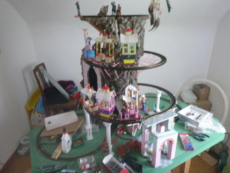 Nellie Rowland Emett Smallbrook Studio Anlage mit 8Tunnels und Berg, Luftschiff  - Seite 2 P1060956