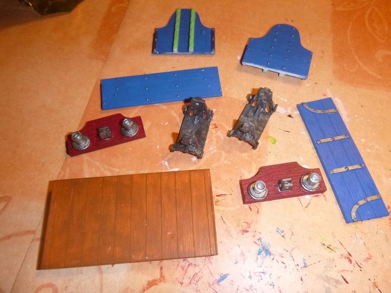 Gn15 Emett Drop Side 3 Plank Open Waggon smallbrook studio 1:22,5 LGB P1070047