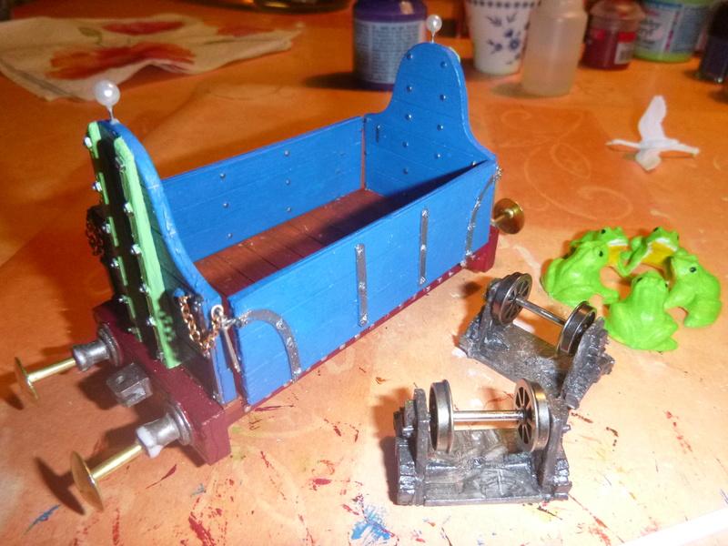 Gn15 Emett Drop Side 3 Plank Open Waggon smallbrook studio 1:22,5 LGB P1070049
