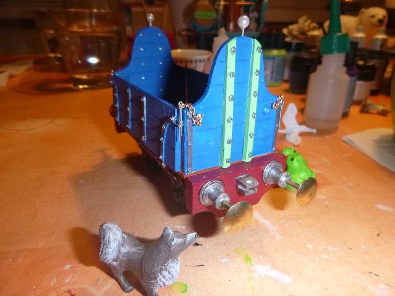 Gn15 Emett Drop Side 3 Plank Open Waggon smallbrook studio 1:22,5 LGB P1070055
