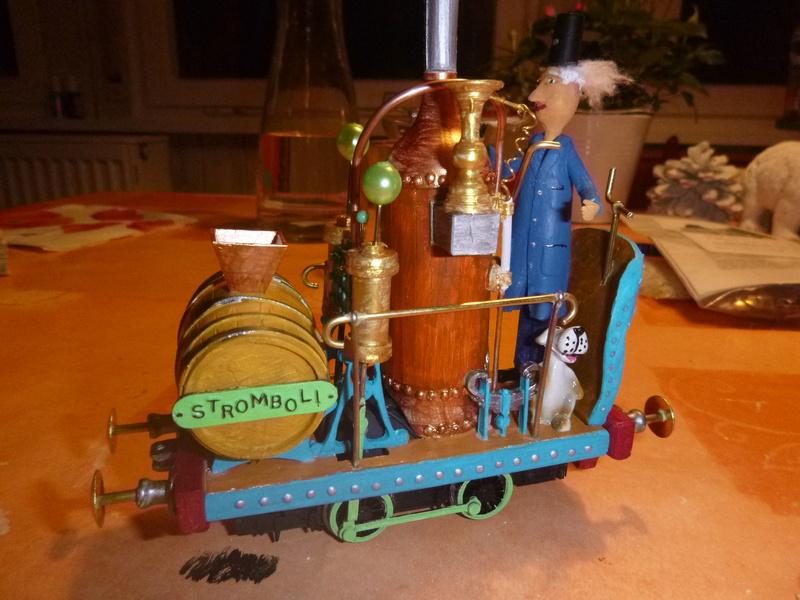 Stromboli  Gn15 Emett locomotive  1:22,5 smallbrook studio LGB P1070114