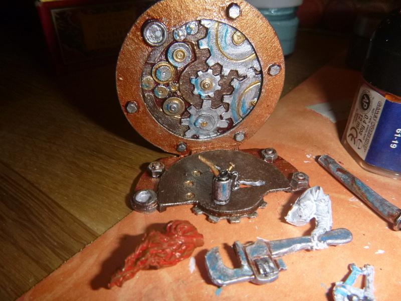 Scale 75 Fix it Sam  Mechanikerin 75mm Steam Punk P1070176
