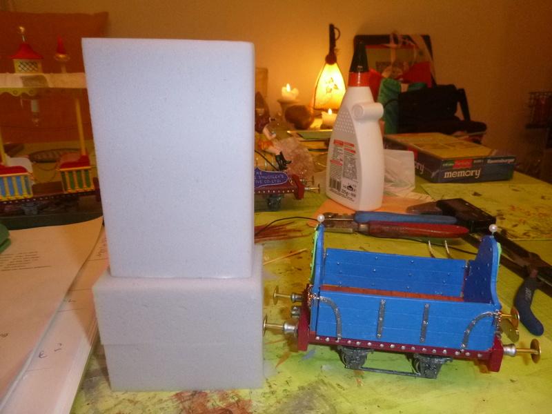 Gn15 Emett Drop Side 3 Plank Open Waggon smallbrook studio 1:22,5 LGB P1070197