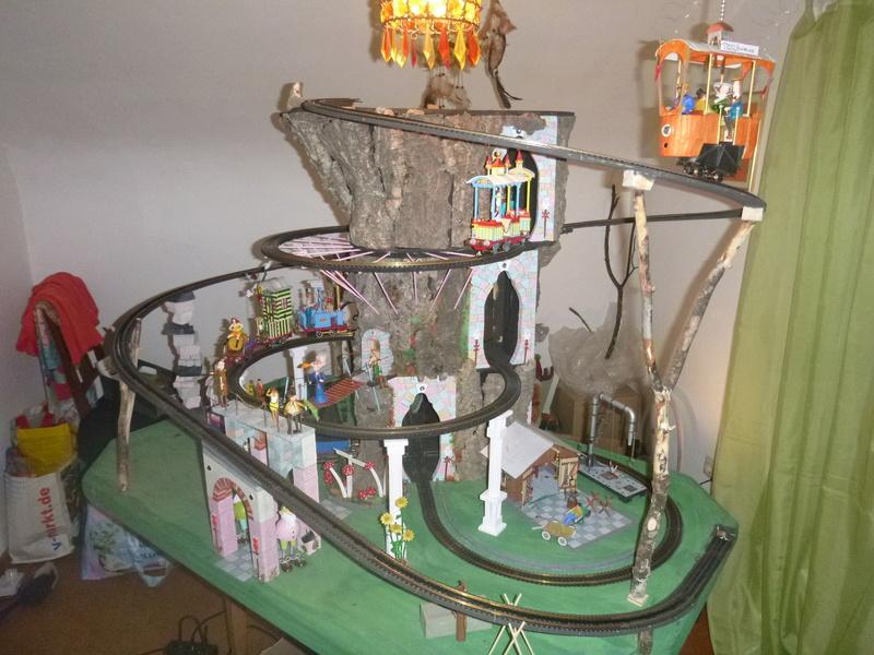 Nellie Rowland Emett Smallbrook Studio Anlage mit 8Tunnels und Berg, Luftschiff  - Seite 2 P1070313