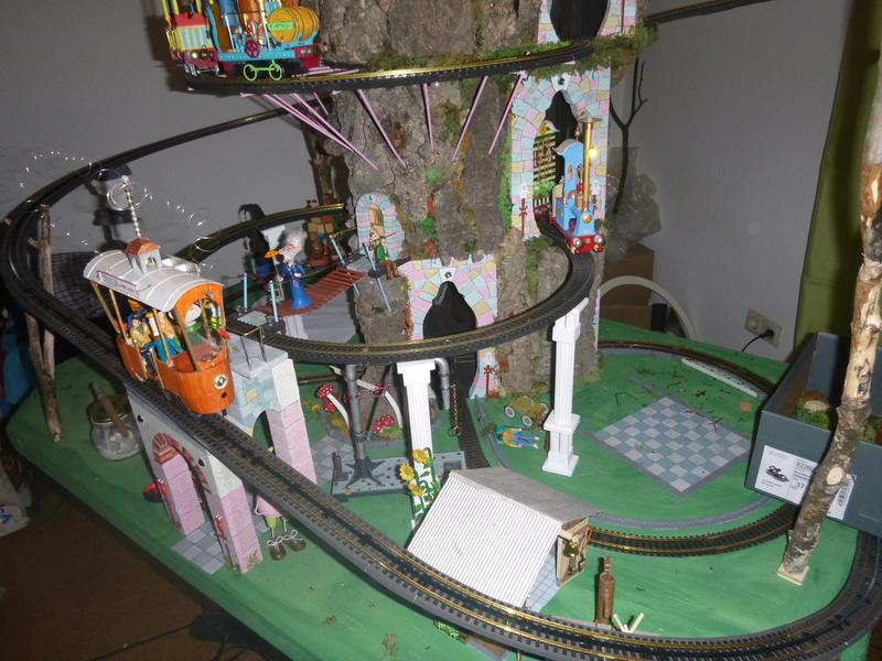 Nellie Rowland Emett Smallbrook Studio Anlage mit 8Tunnels und Berg, Luftschiff  - Seite 2 P1070316