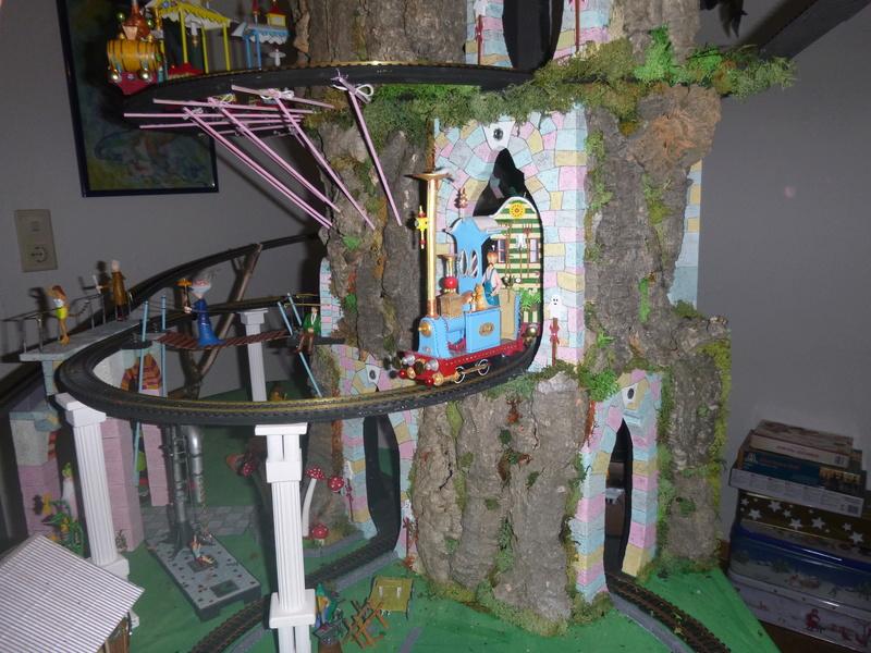 Nellie Rowland Emett Smallbrook Studio Anlage mit 8Tunnels und Berg, Luftschiff  - Seite 2 P1070317