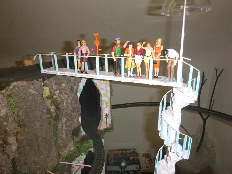 Nellie Rowland Emett Smallbrook Studio Anlage mit 8Tunnels und Berg, Luftschiff  - Seite 3 P1070370