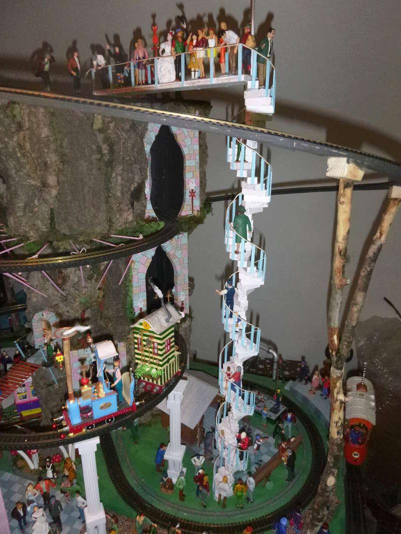 Nellie Rowland Emett Smallbrook Studio Anlage mit 8Tunnels und Berg, Luftschiff  - Seite 3 P1070417