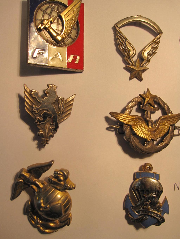 Lot de 6 insignes pour identification Ident_11