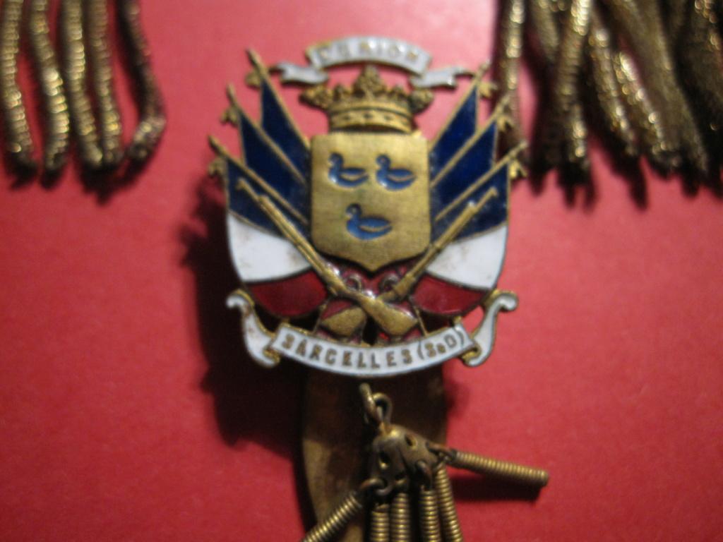 Lot de rubans et d'insignes des Pompiers de Sarcelle Img_4510