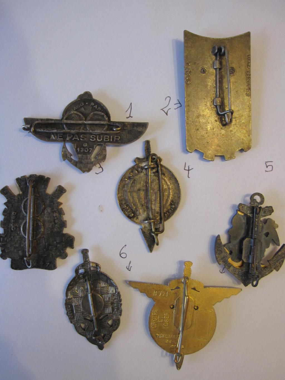 Lot de 7 insignes (pucelles) a découvrir Indo_210